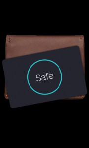 wallet black bg