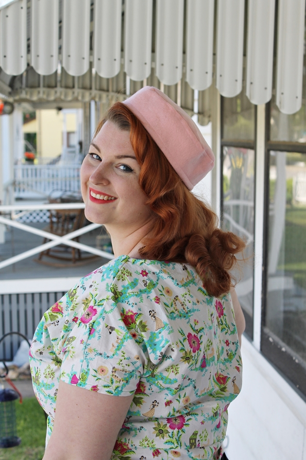 how to make a simple vintage style pillbox hat
