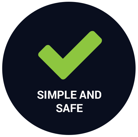 simple and safe