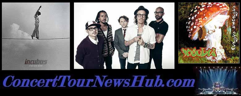Incubus Concert Tickets, Presale Codes, Pit Tickets, Fan Packages, Meet & Greet Tickets, Box Tickets, VIP Suites, VIP Packages, Luxury Suite Tickets