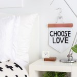 DIY No-Sew Inspirational Banner