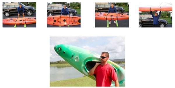 o carry your kayak you do not necessarily have to have a good muscle mass or heavy built-up