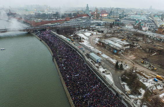 March to the memory of Boris Nemtsov