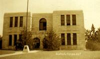 Dickens County Courthouse, Dickens, Texas 1940s