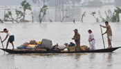 Several districts of India's Assam flooded