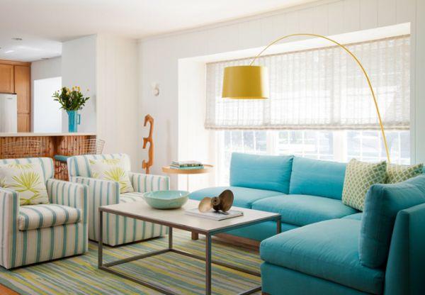 Màu sắc sơn nhà tạo nên không gian ấm cúng 4