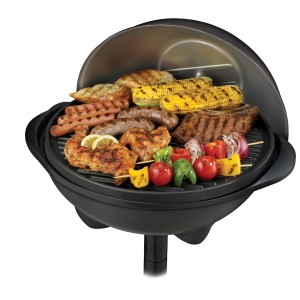 George Foreman GGR50B Indoor-Outdoor Grill 2