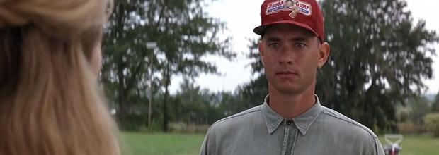 Tom Hanks en 'Forrest Gump' (Robert Zemeckis, 1994)
