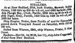 (1) The Warren departed from its home port of Warren, Rhode Island, on November 29, 1847.  It is most likely that Charles Thompson boarded at this time.