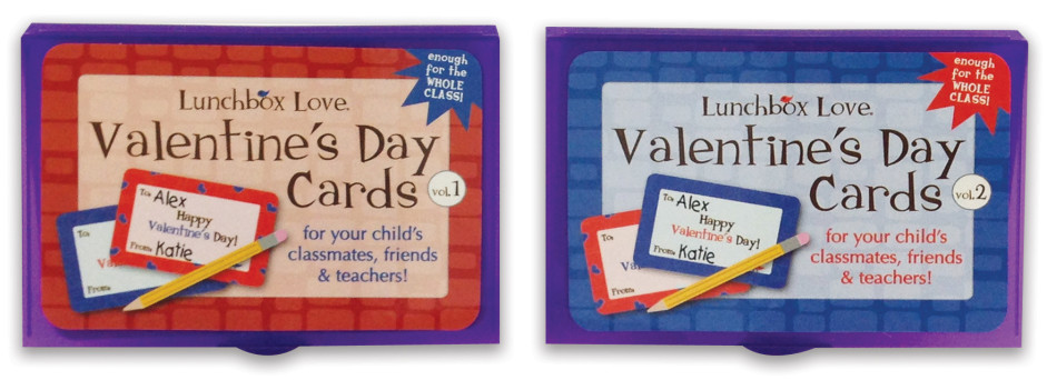 Lunchbox Love® for Valentine's Day Volumes 1 & 2
