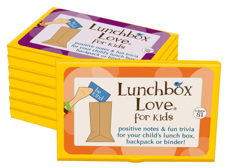 Lunchbox Love for Kids Volumes 81-88