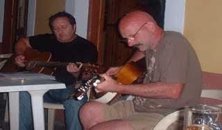 playing at Yannis Bar image