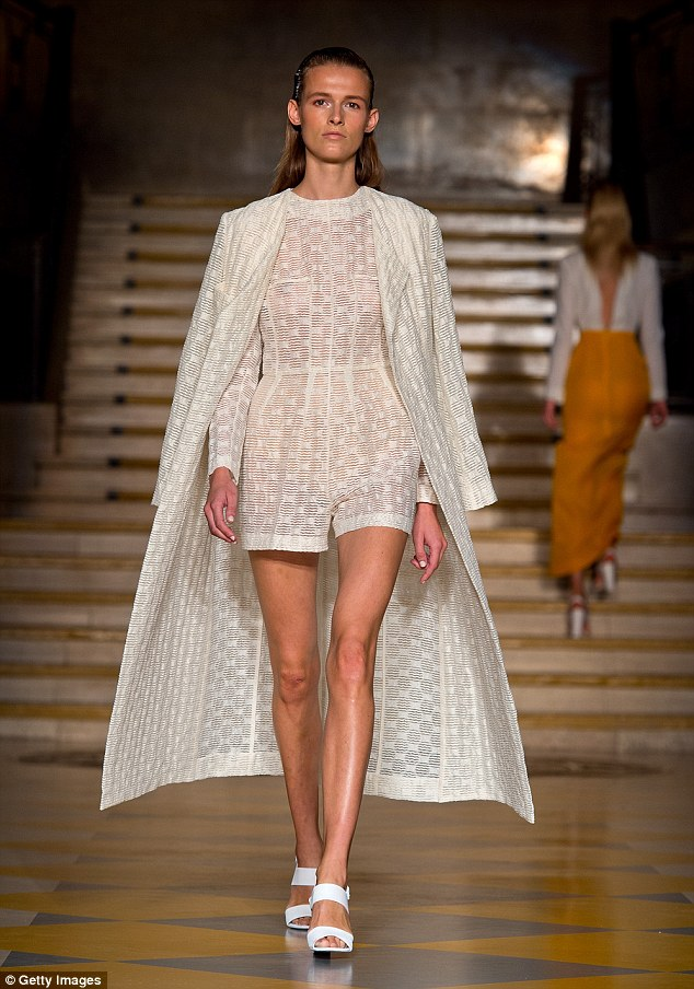 Will Kate be wearing this? The Duchess of Cambridge is a well-known fan of Emilia Wickstead who also took paid tribute to the transparent trend
