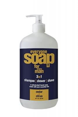 5. Everyone Soap for Every Man, Cedar and Citrus