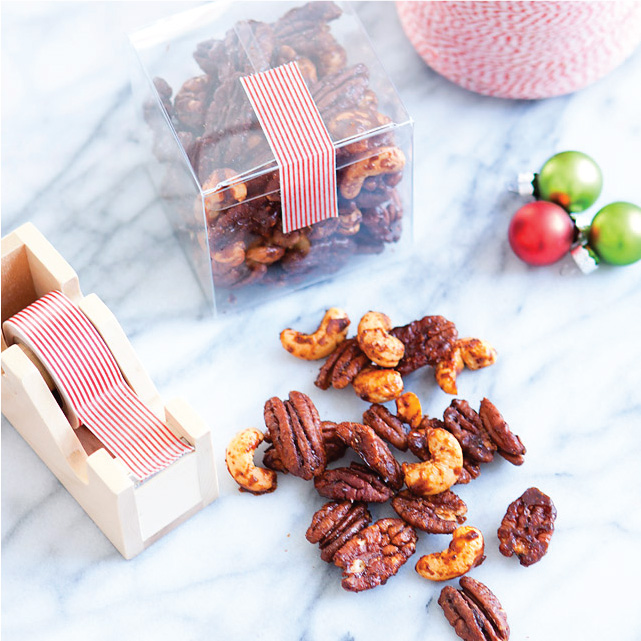 Recipe // Sweet and Spicy Nut Mix