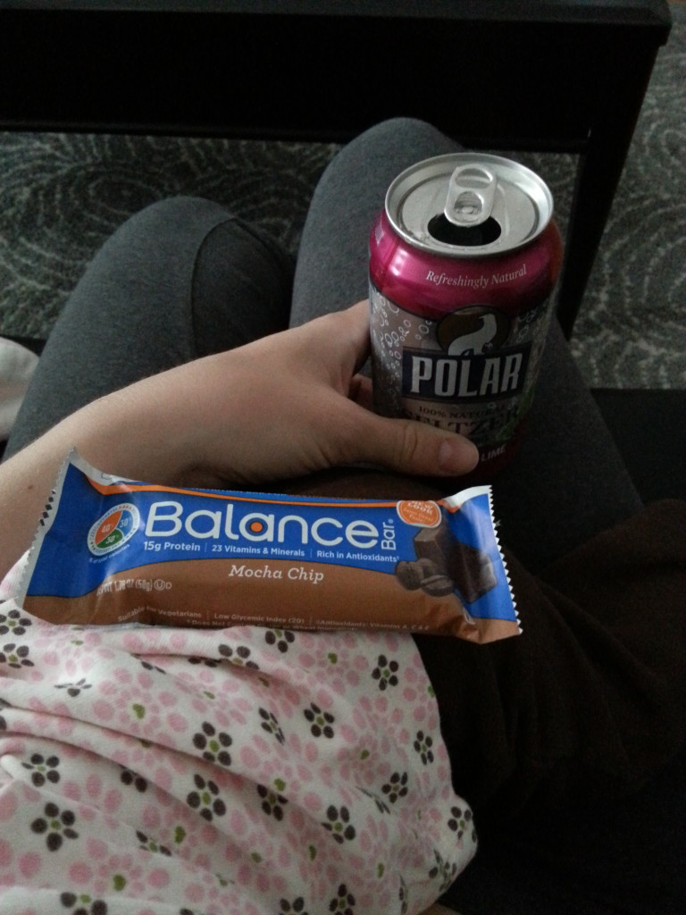 balance bar & seltzer