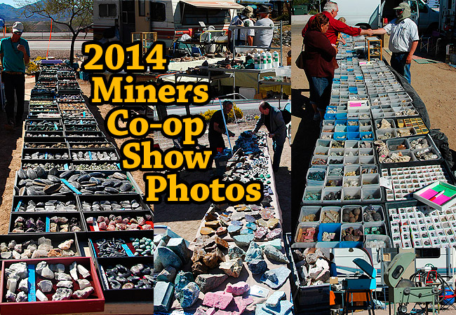 Photos from the 2014 Miners Coop Rock / Gem Show in Tucson
