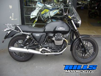 2014 Moto Guzzi V7 750 Stone Road Manual 750cc