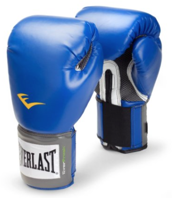 Everlast Pro Style Training Gloves Blue