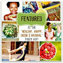 Live It Up at the Healthy, Happy, Green & Natural Party Blog Hop #38