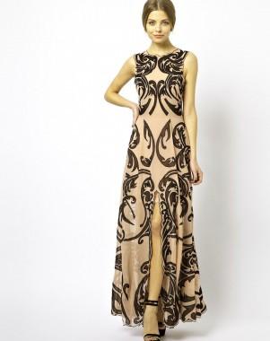 modelos de vestidos largos para fiestas bonitos