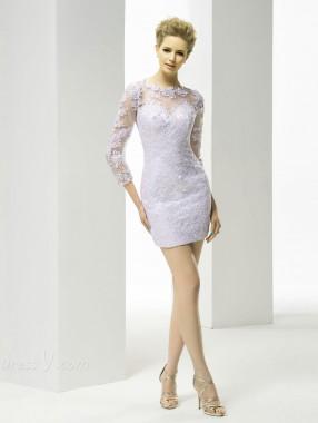 vestidos cortos para una boda elegantes