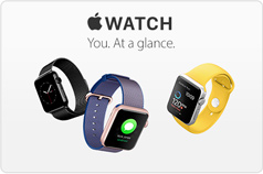 Apple Watch. You. At a glance.