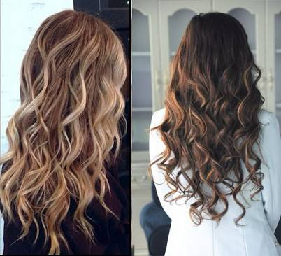 hair color-Balayage