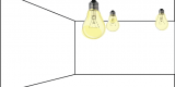 palfondlamp, plafondaire, lamp aan plafond