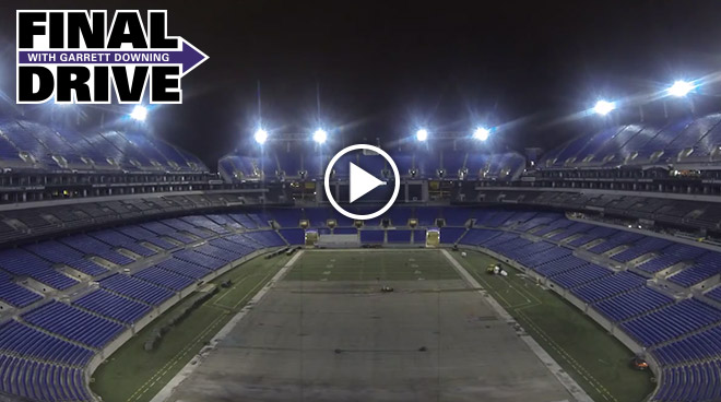 Time Lapse Of Stadium Turf Removal