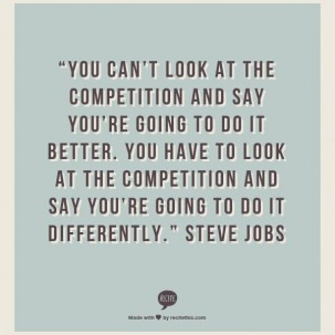 Do it Differently.