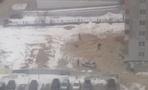 На улице Старых Большевиков на стройке обнаружили труп
