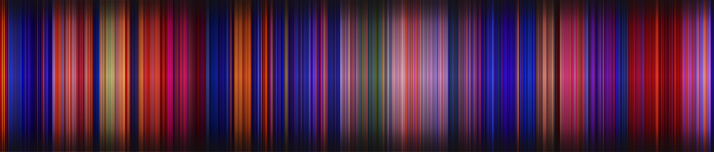 Popular movies, reduced solely to their colors