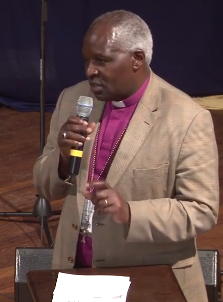 Archbishop Rwaje at GAFCON in 2013
