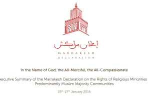 The Marrakesh Declaration: Promise and Paralysis