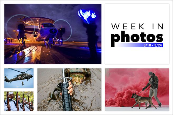 Week in Photos is a collection of the best images published on defense.gov during a seven-day period, showing troops as they serve in operation, sacrifice and engage in daily life.