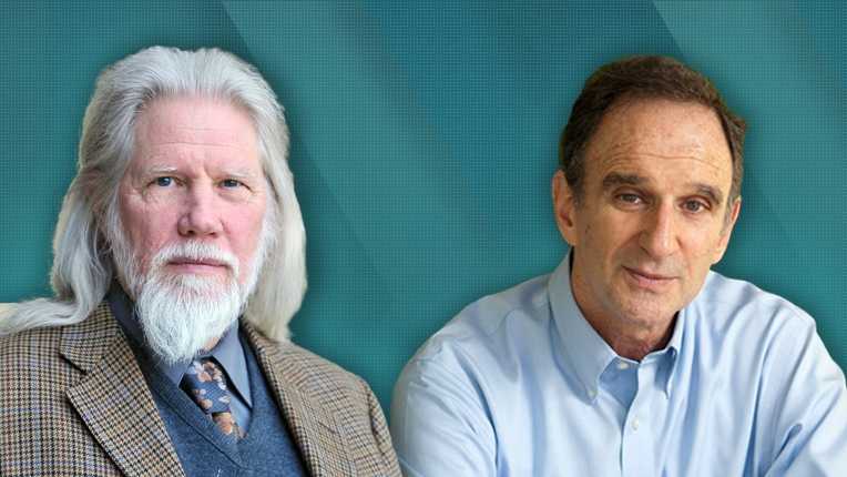 2015 ACM A.M. Turing recipients Whitfield Diffie and Martin E. Hellman