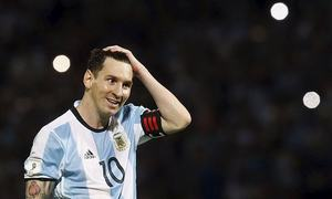 Messi boot donation provokes angry response in Egypt