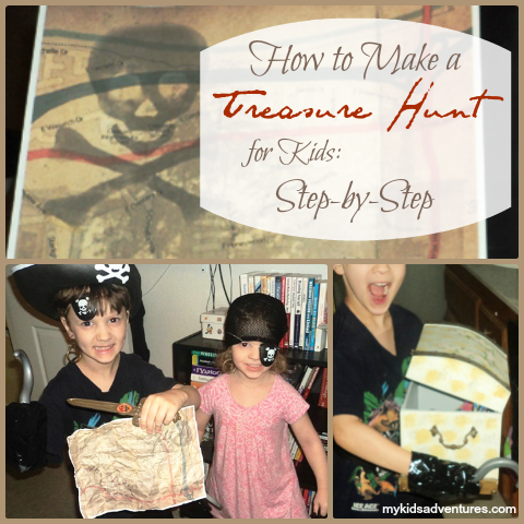 Treasure hunt basics: create the ultimate treasure hunt for your kids, based on their ages and interests, even as their ages and interests change.
