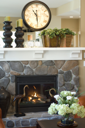 fireplace mantel for spring at ideal home garden decorate fireplace