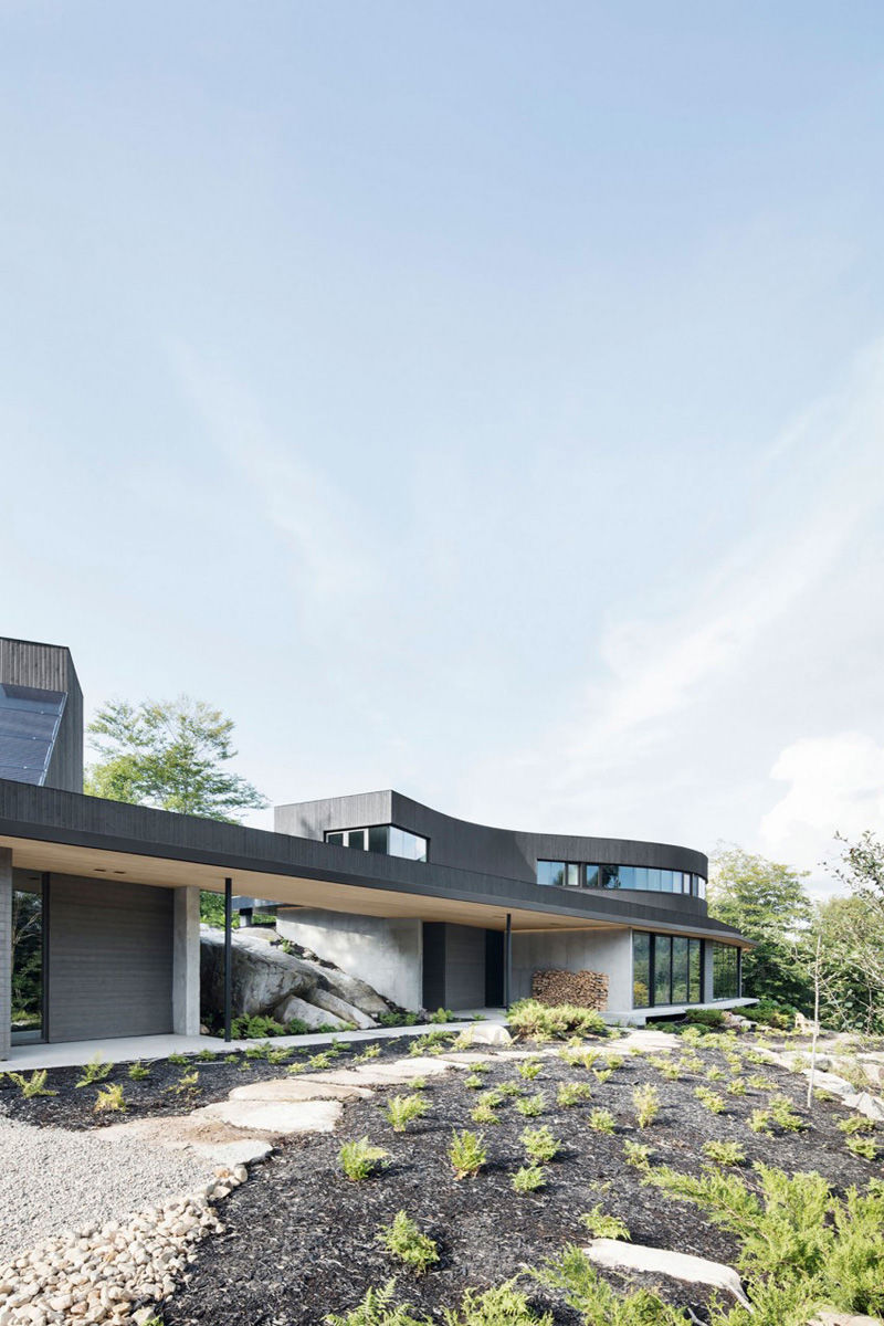 Astonishing Contemporary Architecture by Alain Carle
