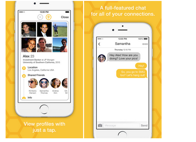 On Bumble dating site, conversations between matches can only be initiated by women