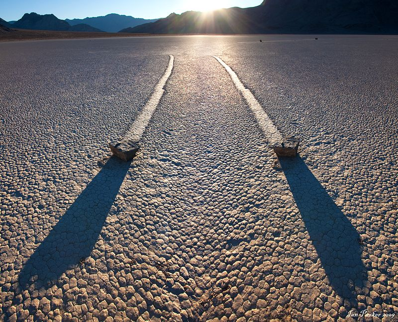 Racetrack Playa, Death Valley California