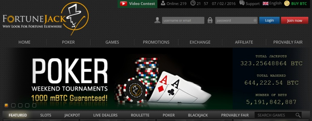 Fortunejack-Poker