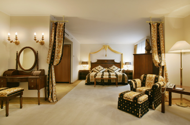 Presidential Corvinus Suite at Five-star Kempinski Hotel Corvinus Budapest Hungary