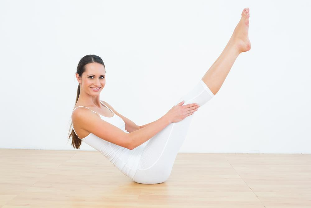 how to perform boat pose exercise