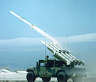 AIM-120 SLAMRAAM CLAWS Launch from Hummer