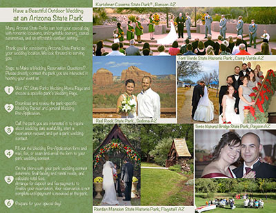 Weddings Arizona State Parks