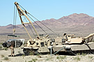 M88 removes M1 engine at Gold Eagle 2009