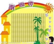 幼儿园家园联系栏布置:家园桥